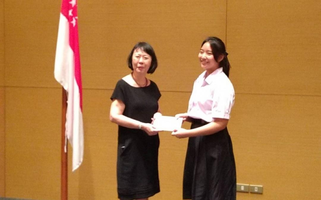 ขอแสดงความยินดีกับน้องกะทิ นักเรียนทุน ASEAN Scholarships ปีล่าสุด (AY2019)