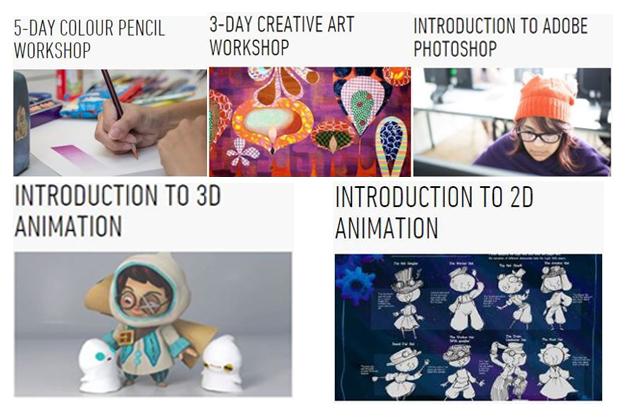 คอร์สศิลปะและ Animation ระยะสั้นช่วงปิดเทอมกับ LASALLE College of the Arts ประเทศสิงคโปร์