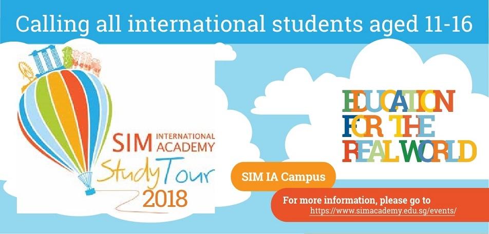 โปรแกรม Study Tour 1 สัปดาห์กับ SIM International Academy 10-17 สิงหาคม 2561