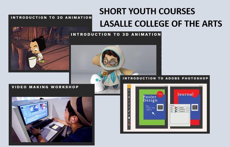 คอร์ส visual arts ระยะสั้นที่ LASALLE College of the Arts ประเทศสิงคโปร์       (พฤศจิกายน/ธันวาคม 2561)