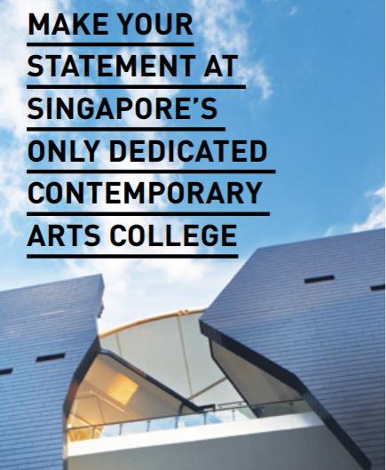 LASALLE College of the Arts รับสมัครเรียนต่อระดับ Diploma ปริญญาตรี ปริญญาโท  ปีการศึกษา 2019 ที่สิงคโปร์